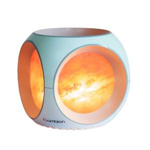 Ambion | 簡約三面LED玫瑰鹽晶燈 (Nanda Devi/白)