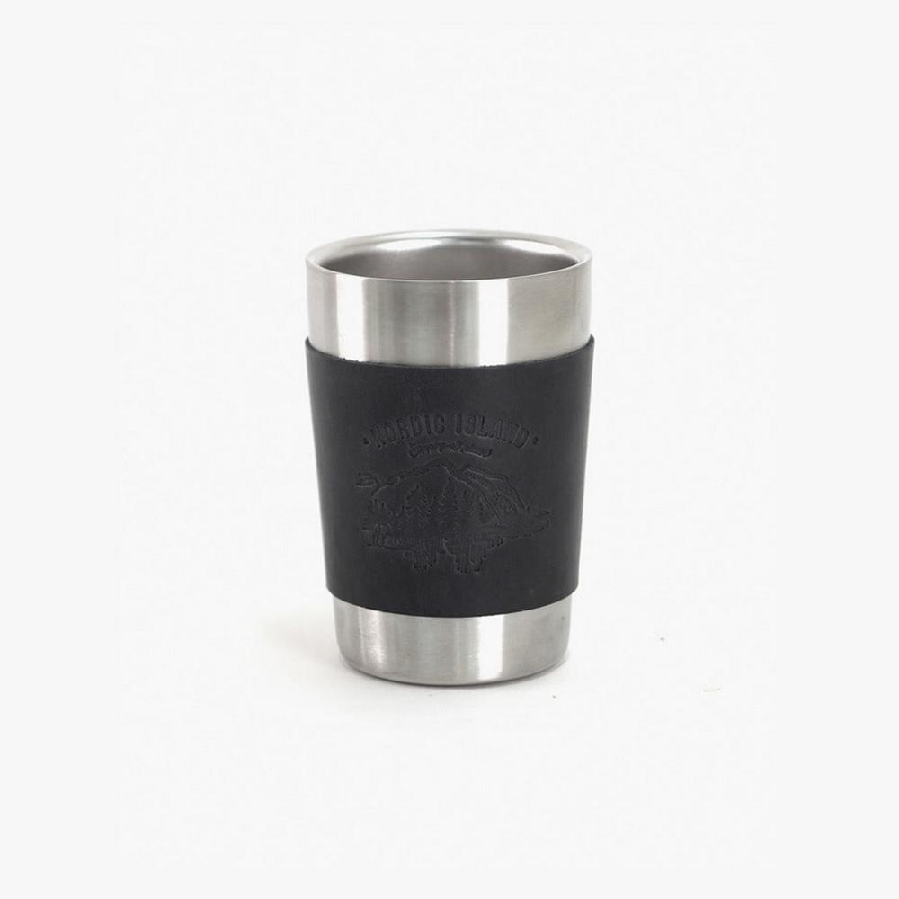 NORDIC ISLAND | 不鏽鋼杯 (黑)