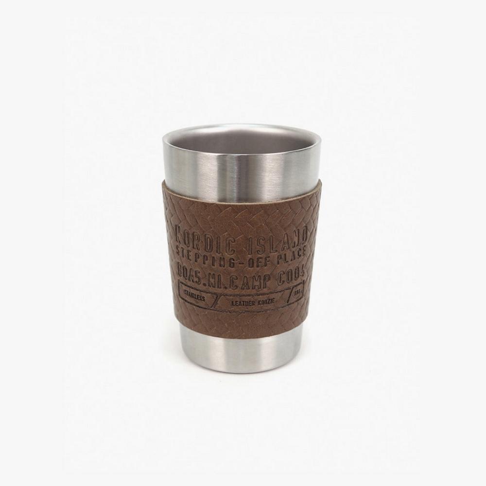 NORDIC ISLAND   不鏽鋼杯 (深棕)