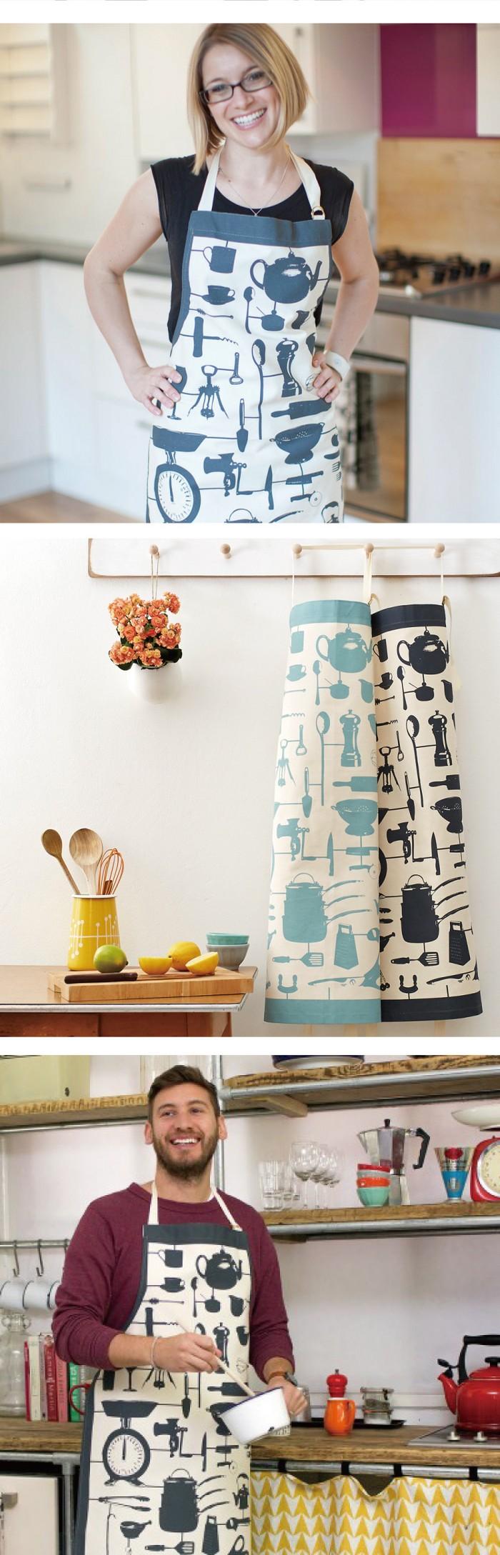 英國蛋 純棉圍裙 模型廚房