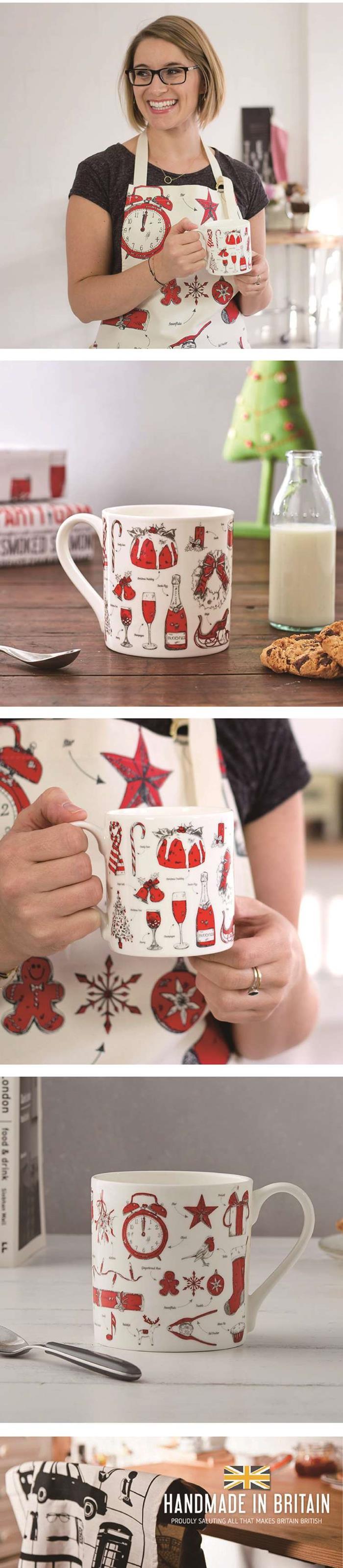 英國蛋|馬克杯  聖誕狂歡