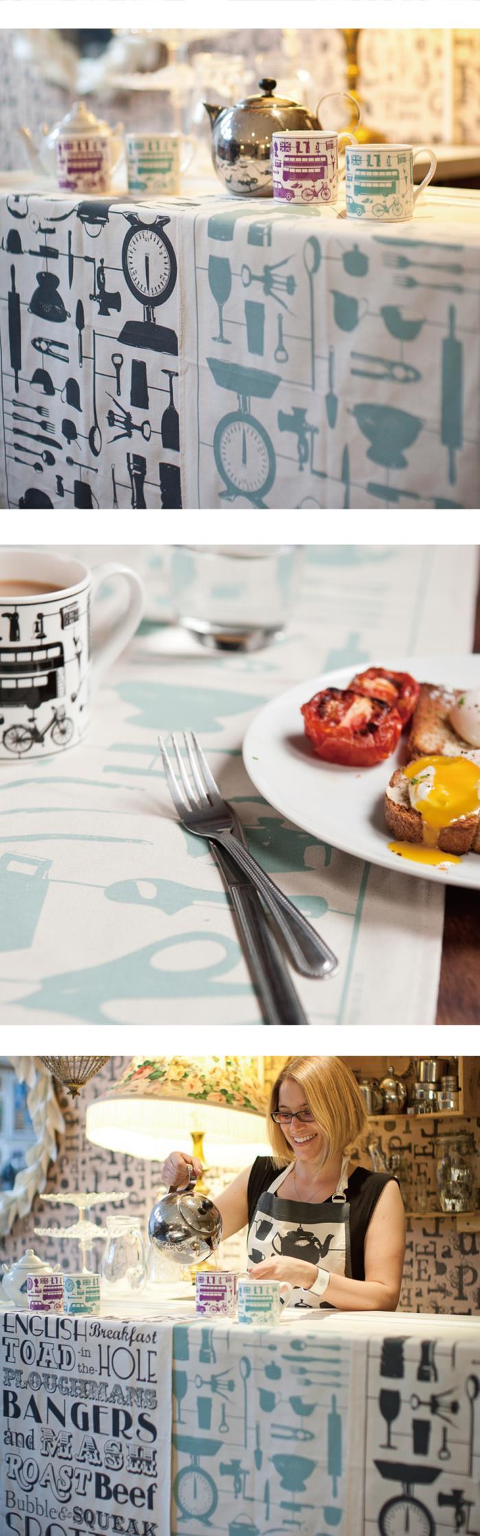 (複製)英國蛋 Victoria Eggs|純棉圍裙 蘇格蘭晚餐
