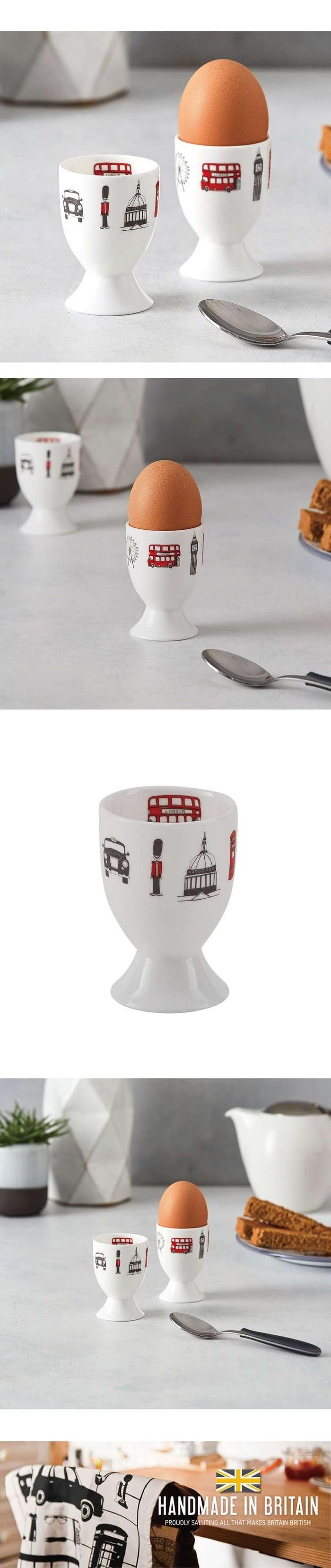英國蛋 | 水煮蛋杯 倫敦天際線