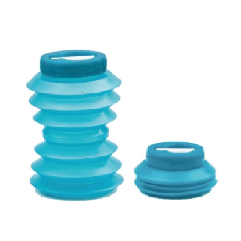 Ohyo|環保伸縮水壺-500ml(藍色)