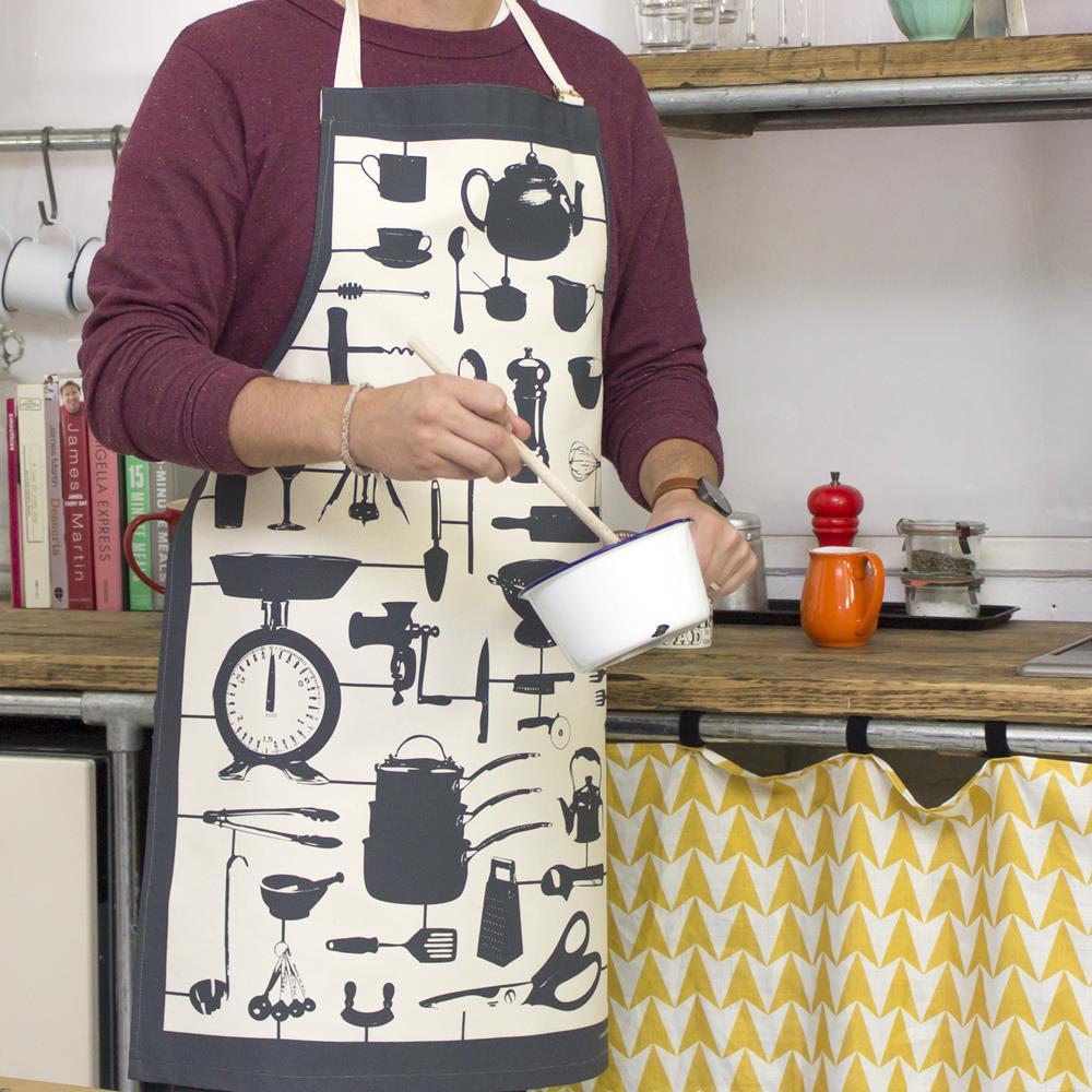 英國蛋 Victoria Eggs 純棉圍裙 模型廚房