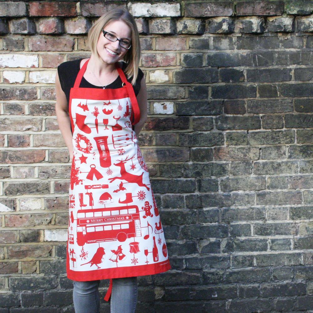 英國蛋 Victoria Eggs|純棉圍裙 模型耶誕節