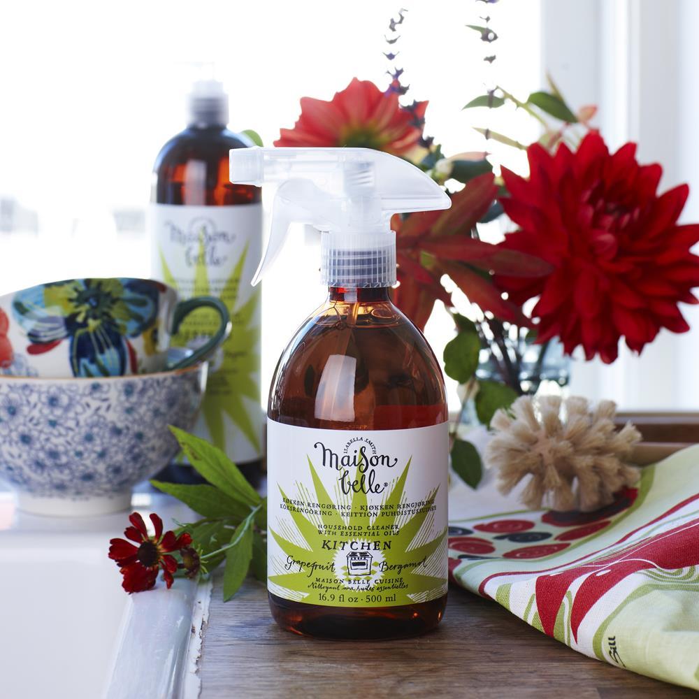 美生貝樂 Maison Belle|植萃精油廚房清潔劑 (葡萄柚/佛手柑)