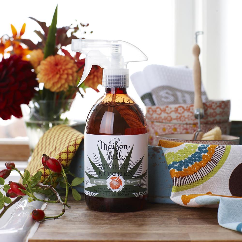 美生貝樂 Maison Belle|植萃精油廚房清潔劑 (甜橙/迷迭香)