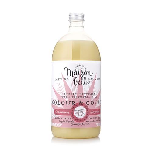 美生貝樂 Maison Belle|植萃精油濃縮洗衣精 (花布/棉布) (肉桂/茉莉/玫瑰精油配方)