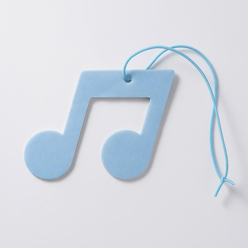 Scentlab 香氛實驗室|音樂符號香氛吊飾 (鼠尾草與海鹽)