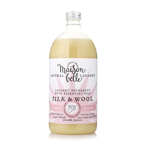 美生貝樂 Maison Belle|植萃精油濃縮洗衣精 (真絲/毛料) (肉桂/茉莉/玫瑰精油配方)