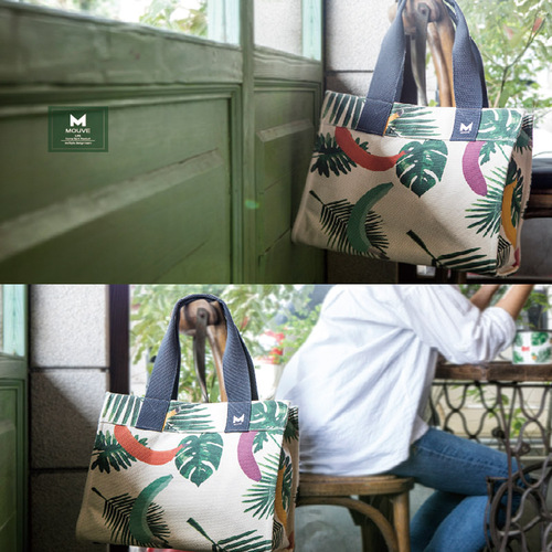 MOUVE|植木法則棉帆布包
