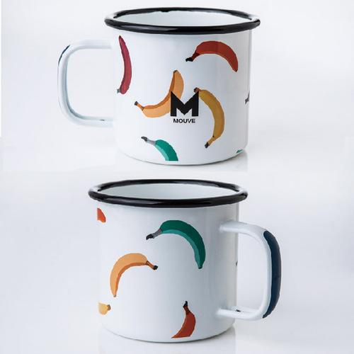 MOUVE|舞動彩蕉琺瑯杯