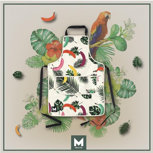 MOUVE|雨林蕉妻料理圍裙