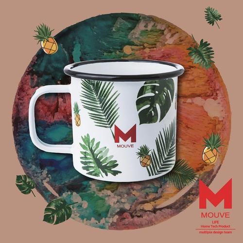 MOUVE|叢林天堂琺瑯杯