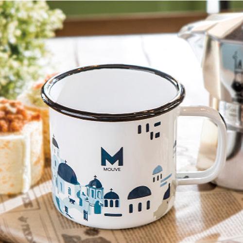 MOUVE|米克諾斯巷弄琺瑯杯