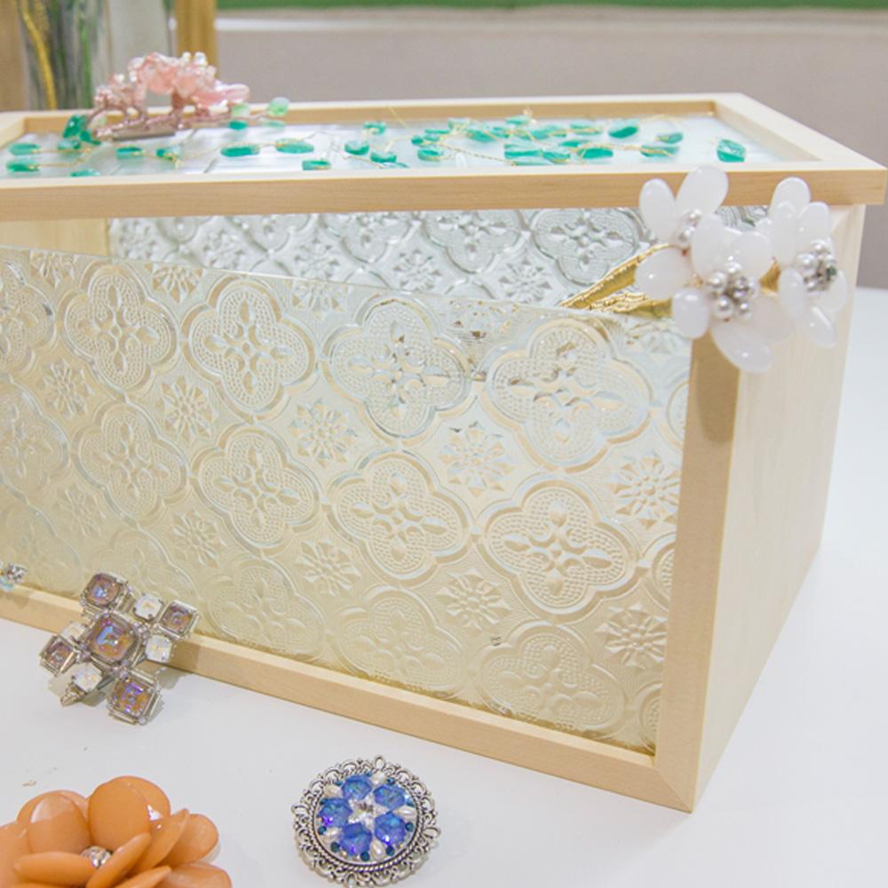Hands|花窗生活系列 - 玻璃花窗收納盒(經典款)