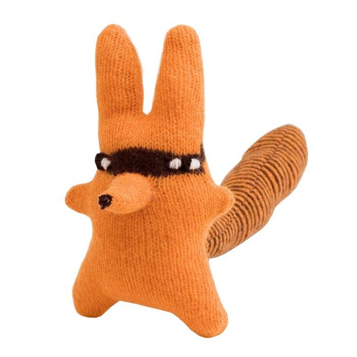 (複製)《Donna Wilson》手工針織羊毛娃-松鼠狐Cyril