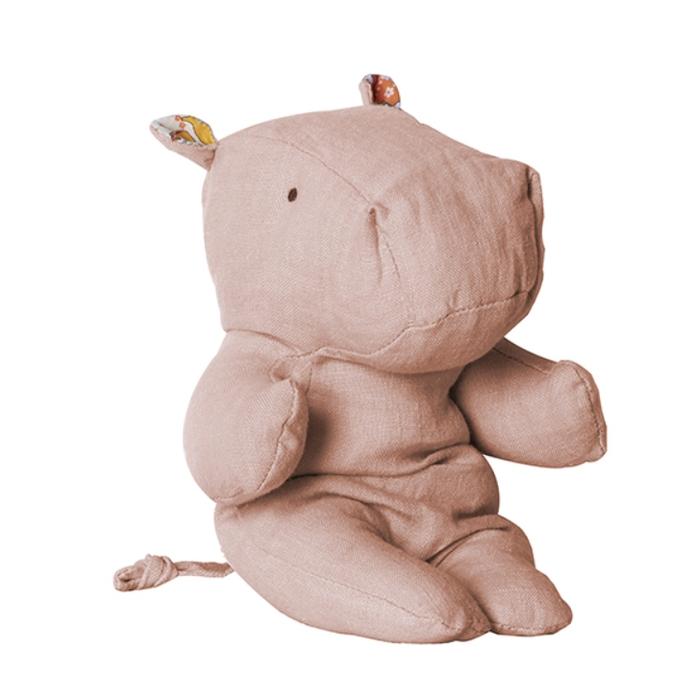 (複製)Maileg|手工玩偶-草原朋友.小犀牛(灰)