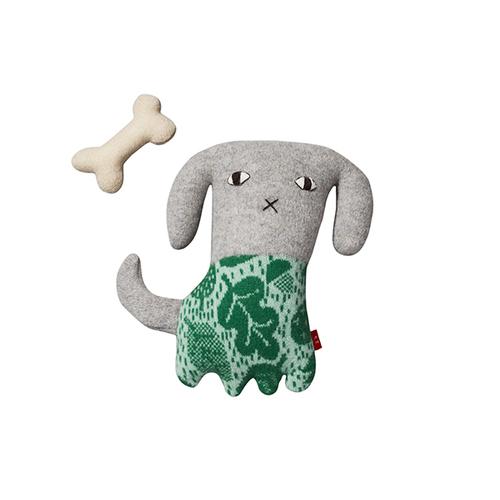 Donna Wilson|手工針織羊毛娃-小狗Bonny&骨頭