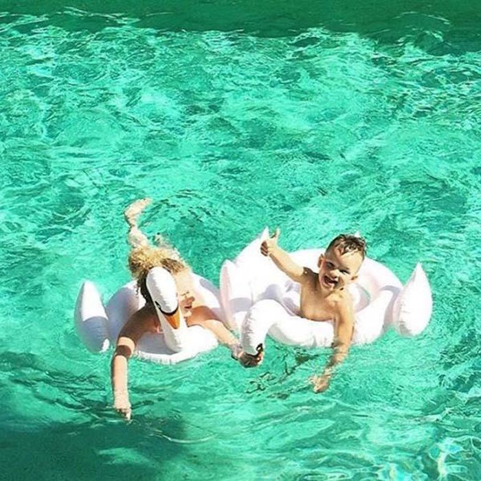 SHARKTANK-SUNNYLIFE|Swan Baby Float 天鵝造型孩童游泳圈