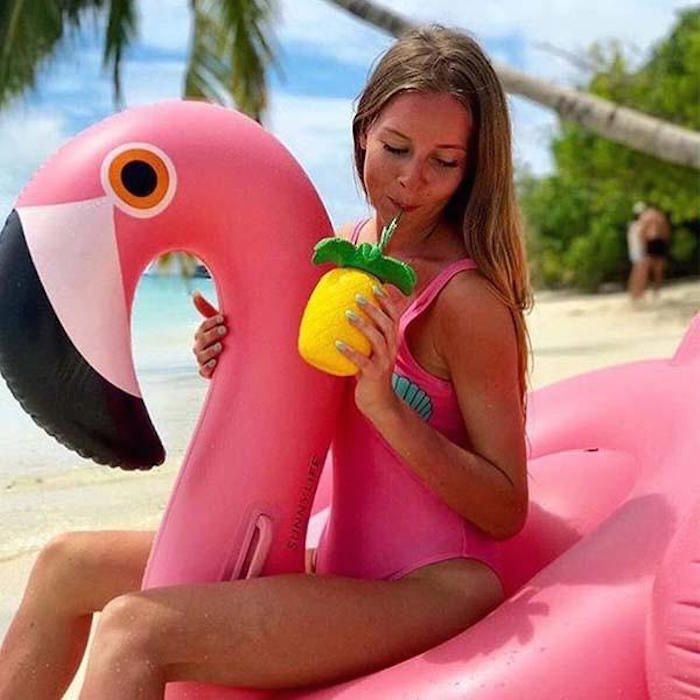 SHARKTANK-SUNNYLIFE|Pineapple Sipper 鳳梨造型杯組