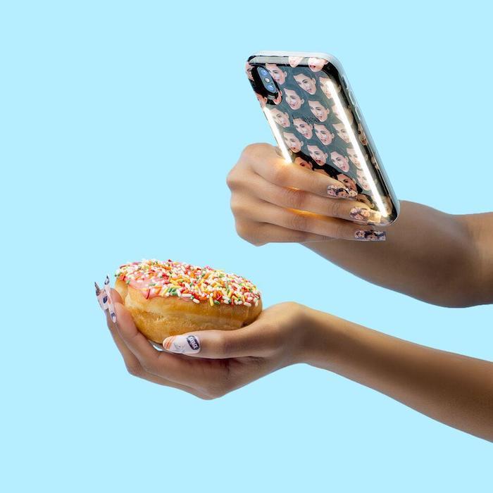 (複製)LUMEE Duo|雙面 LED 補光手機殼 iPhone X (玫瑰金)