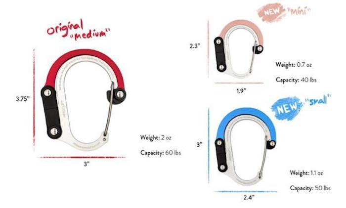 (複製)HEROCLIP|美國多功能扣環掛鉤 - 橘色 1入