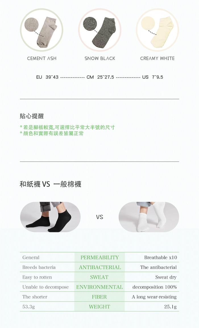 Washi Socks|和紙襪