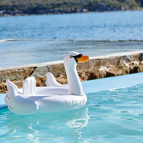 SHARKTANK-SUNNYLIFE|天鵝造型寶寶泳圈