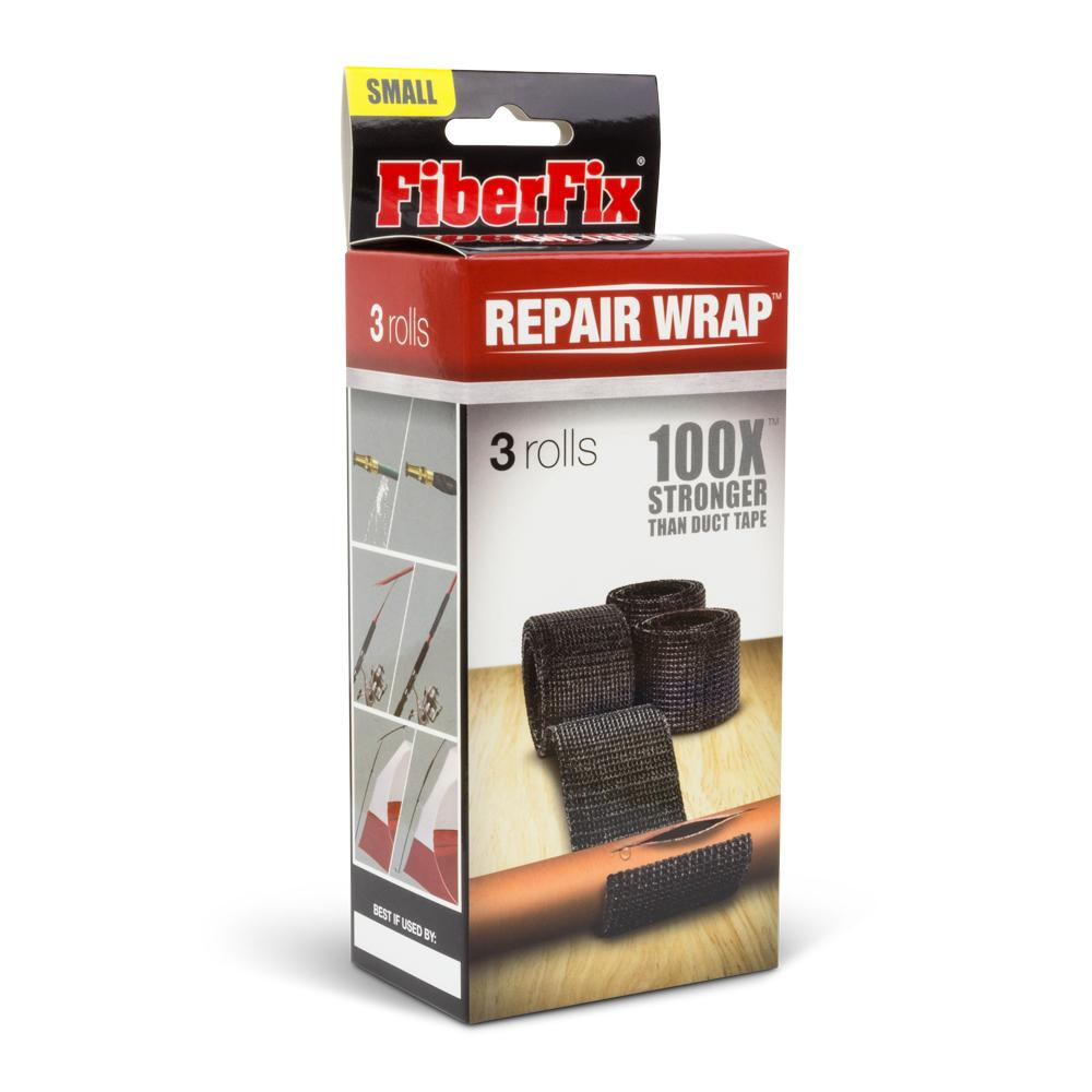 FIBERFILL | 1 Inch Repair Wrap 鋼鐵纖維膠帶 2.5cm (3卷/盒)
