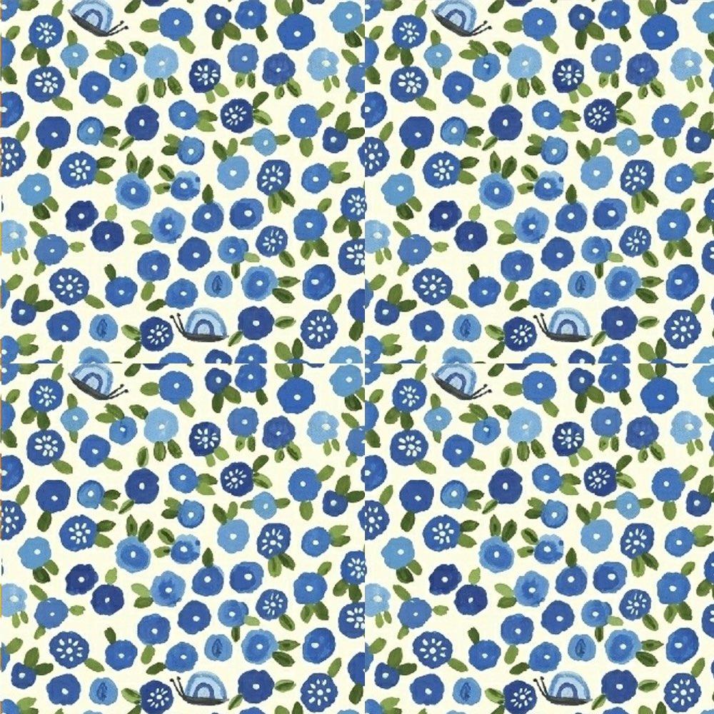 ECO FOOD WRAP|蜂蠟環保保鮮布 - 吃貨輕食袋 - 藍花花