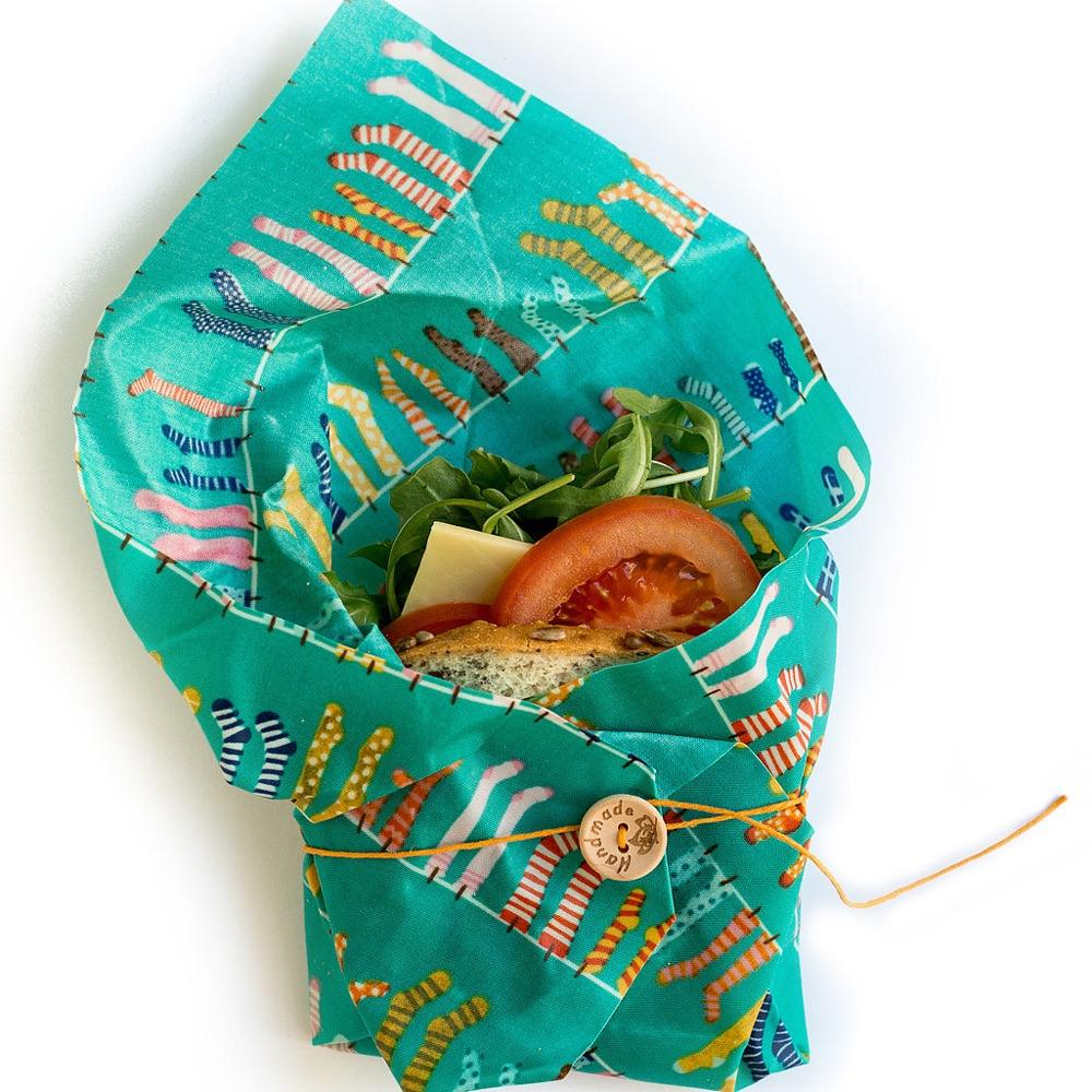 ECO FOOD WRAP|蜂蠟環保保鮮布 - 吃貨輕食袋 - 度假小屋
