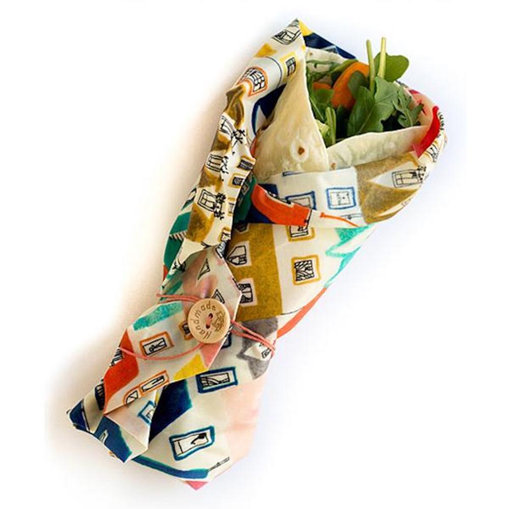 ECO FOOD WRAP|蜂蠟環保保鮮布 - 吃貨輕食袋 - 歐風小屋