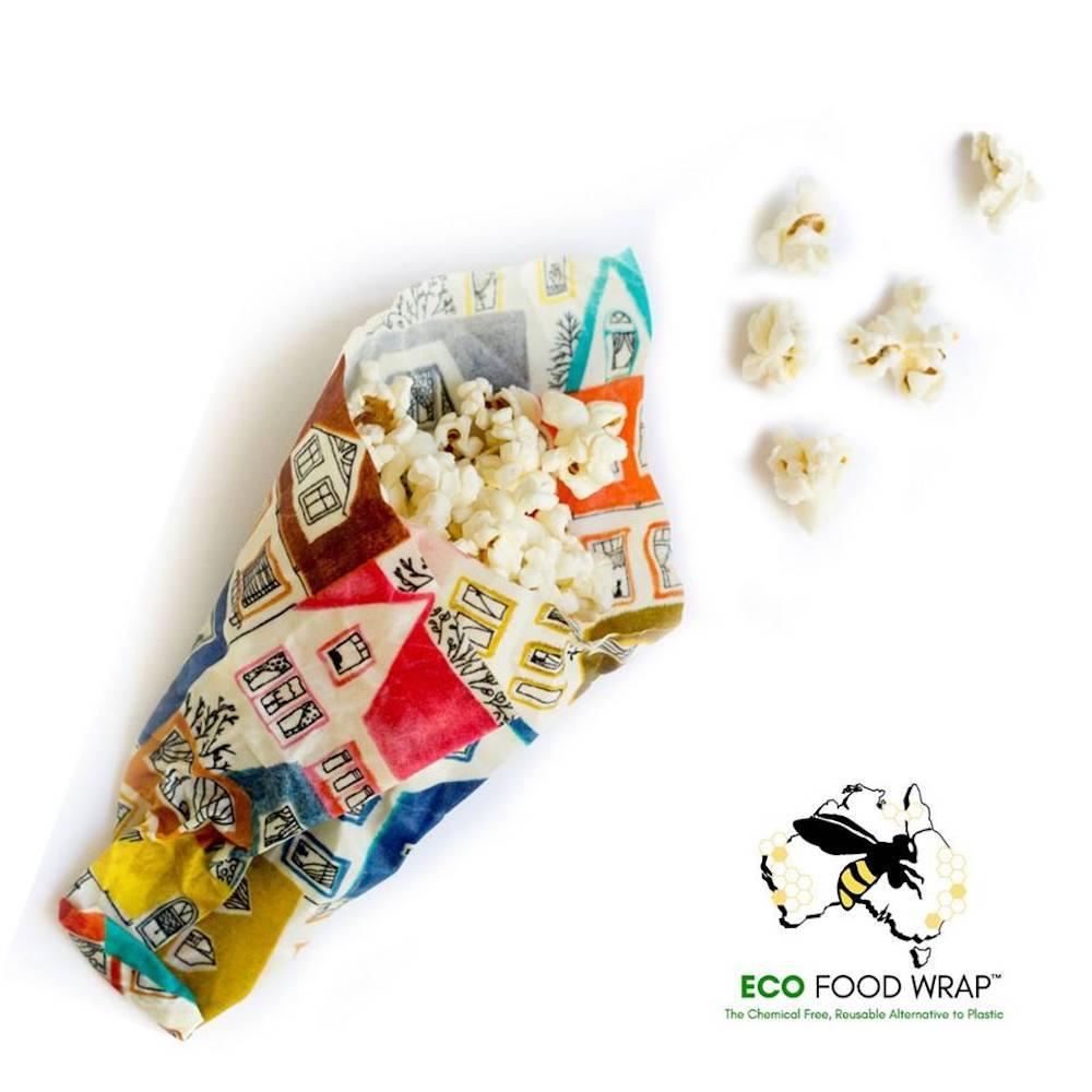 ECO FOOD WRAP|蜂蠟環保保鮮布 - 三入入門組 - 歐風小屋