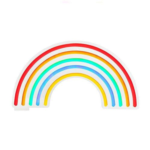 SHARKTANK-SUNNYLIFE|彩虹造型 LED 霓虹燈 - 小