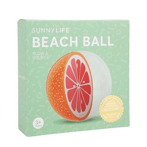 SHARKTANK-SUNNYLIFE|葡萄柚造型充氣海灘球