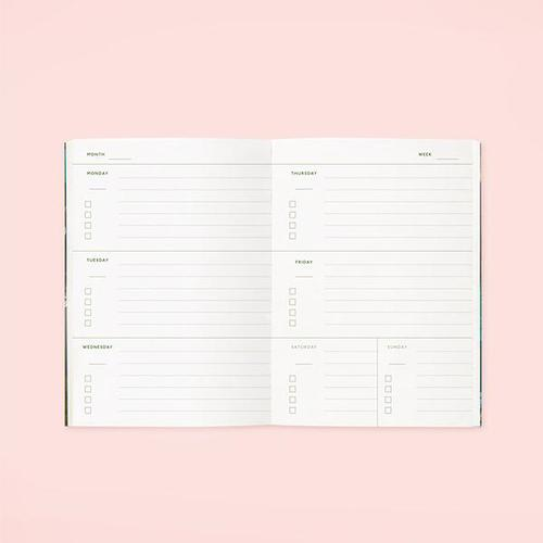 CLAP CLAP DESIGN|粉色鄉村花漾手帳