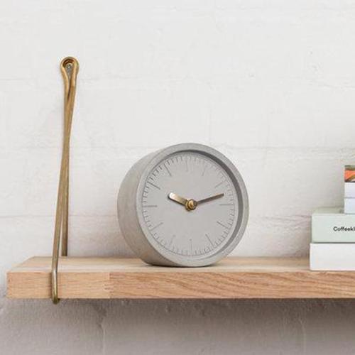 SUCK UK|水泥灰質感時鐘