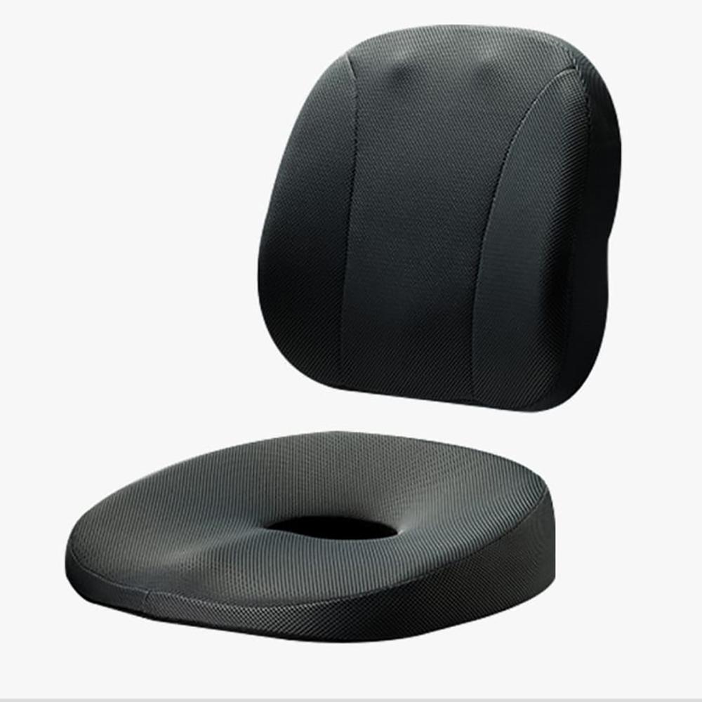 Aikaa   A-BACK 人體工學坐墊 + 腰墊二入組合
