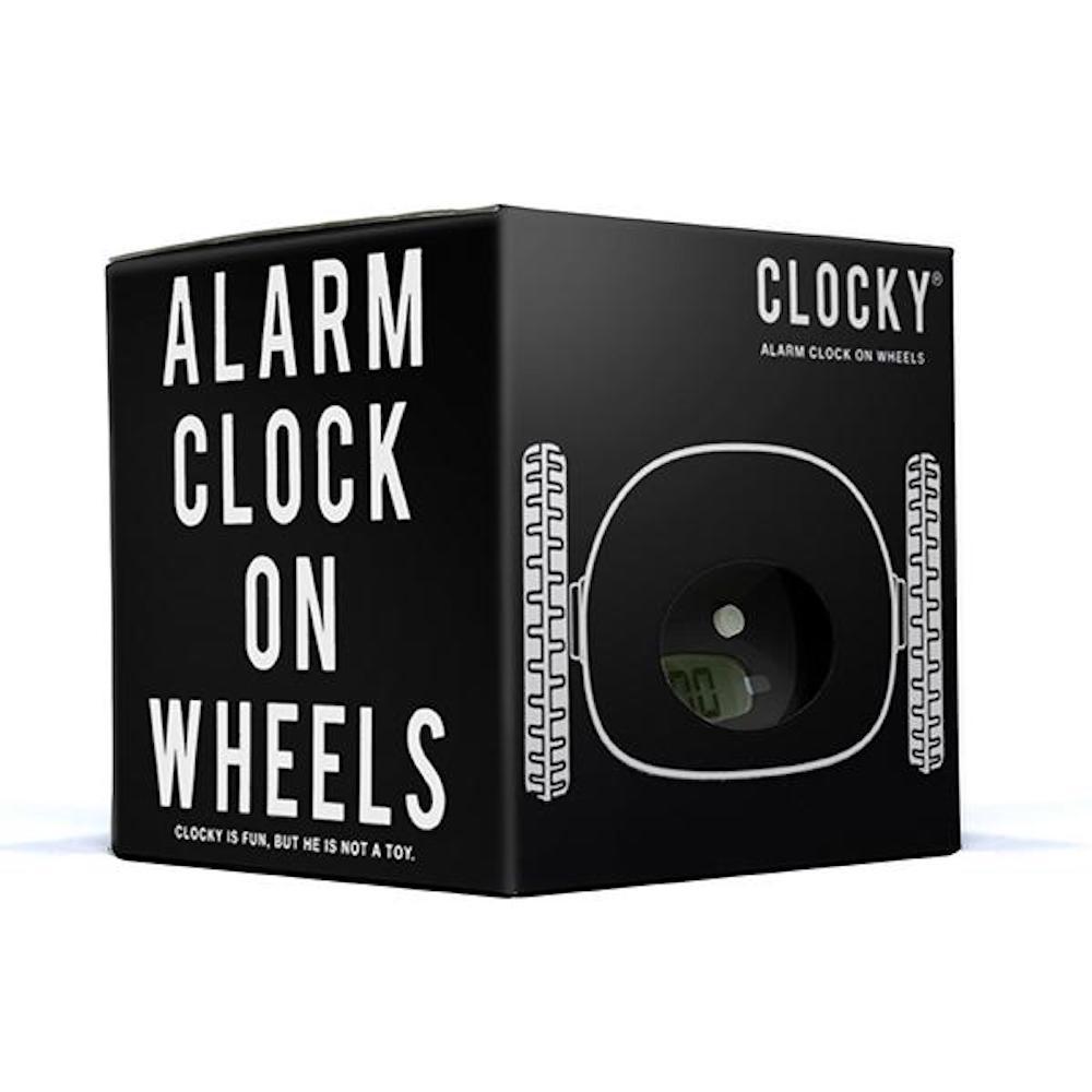 CLOCKY | 落跑鬧鐘 (純色款)-美國原廠正版授權