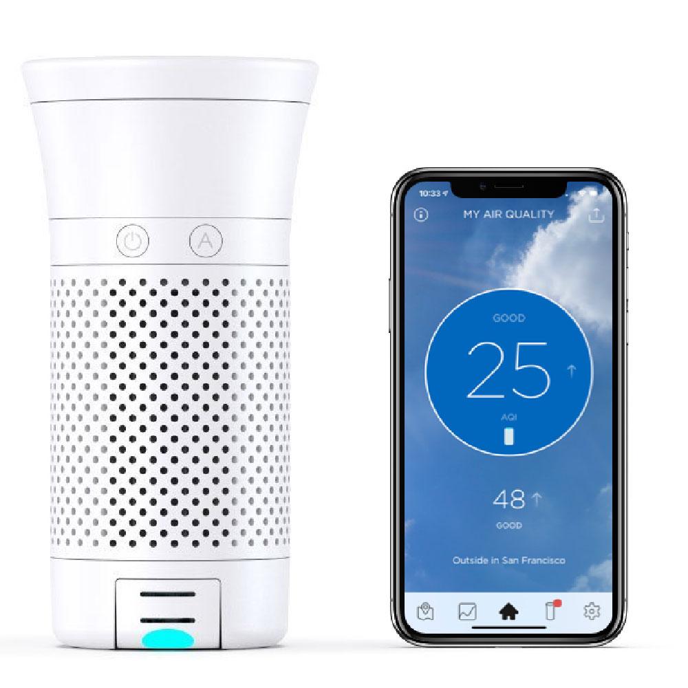 Wynd Plus 智能個人空氣淨化器-白色