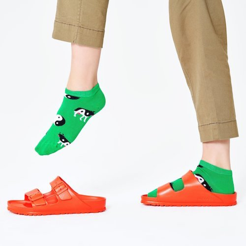 HAPPY SOCKS|乾坤牛踝襪 (36-40)