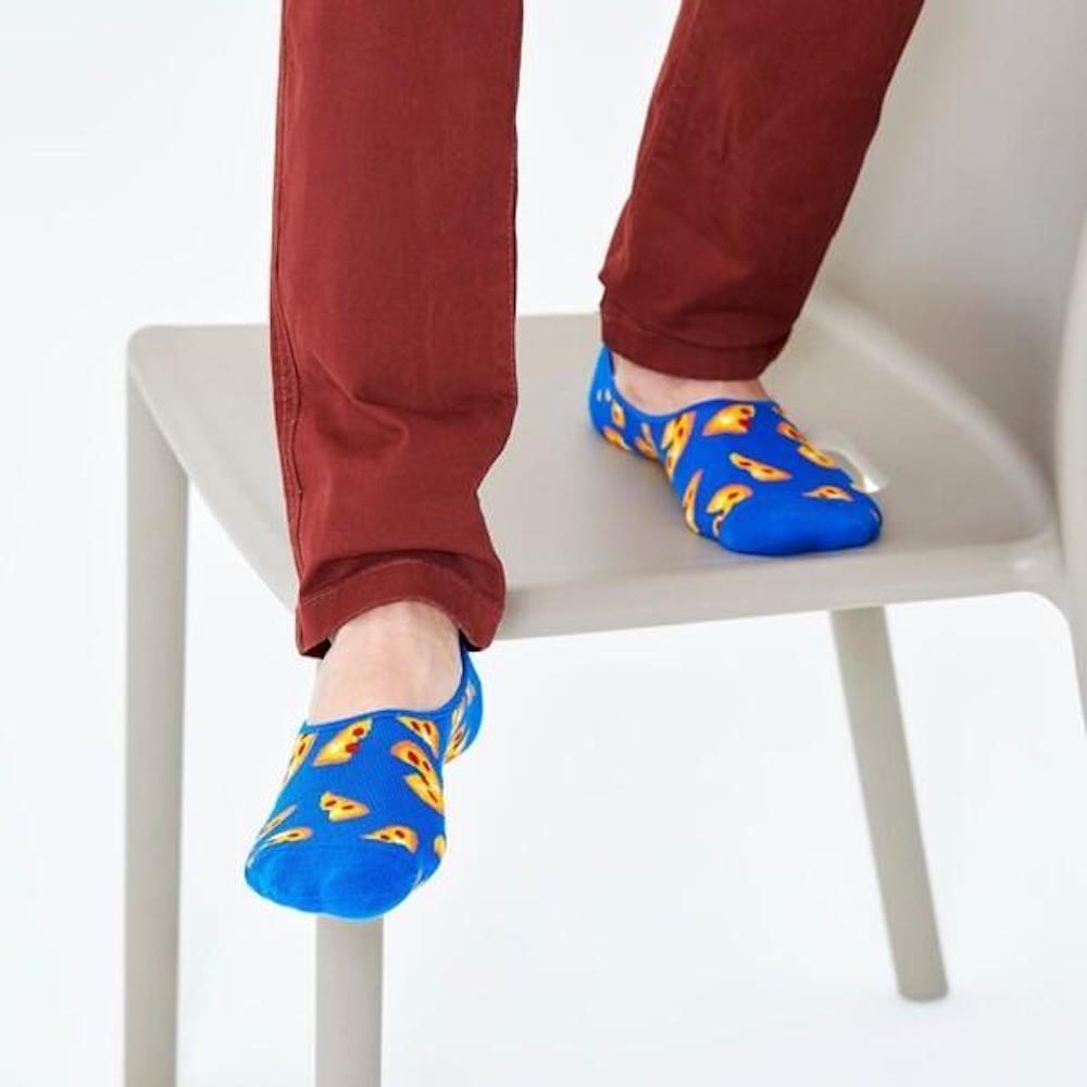 HAPPY SOCKS|鮮美比薩隱形襪 (36-40)