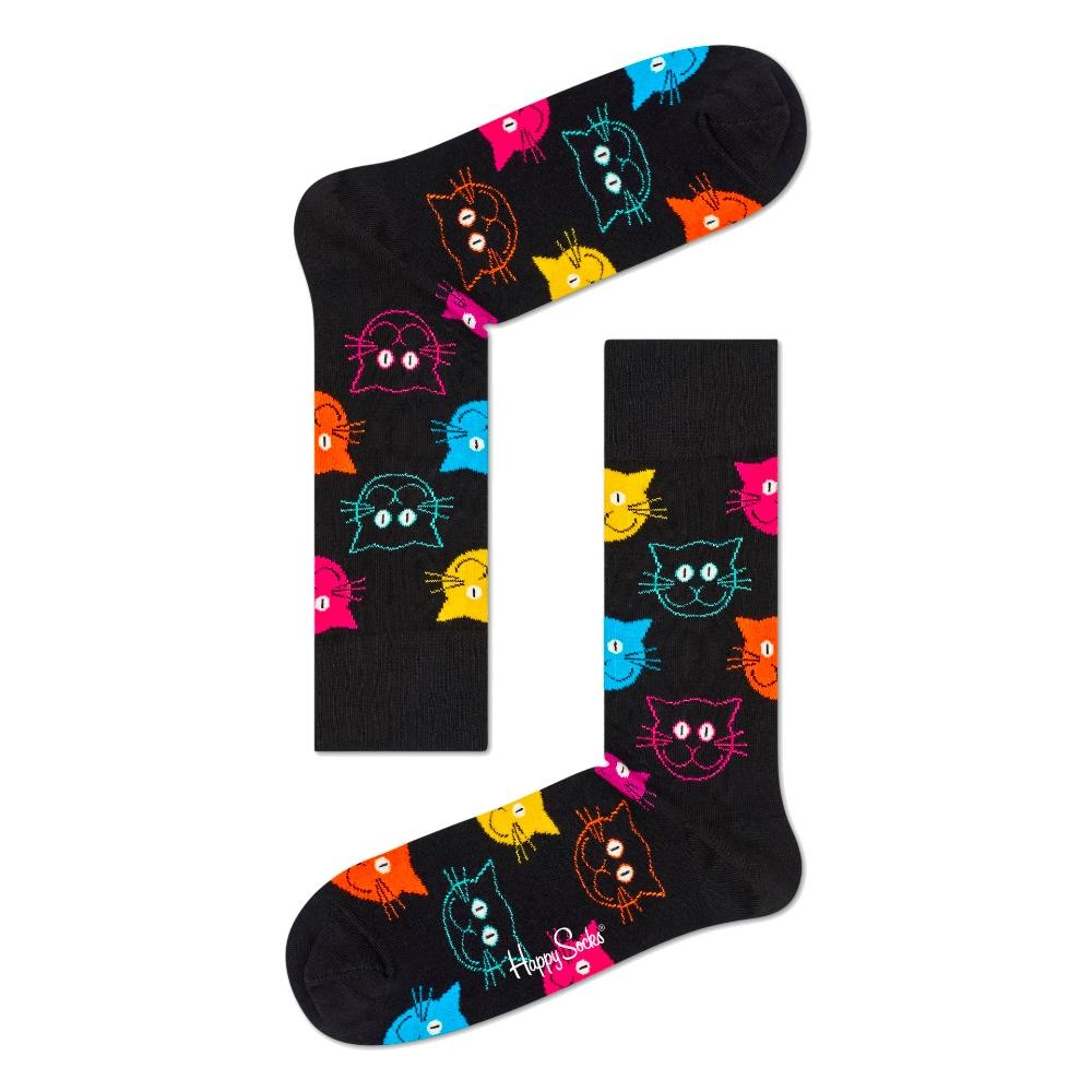 HAPPY SOCKS 彩色貓襪 (36-40)