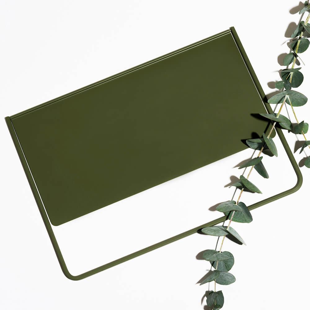 O-urs|FlipUp 翻轉書架(橄欖綠)