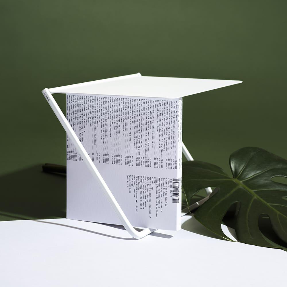 O-urs FlipUp 翻轉CD架(晨曦白)