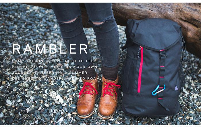英國 PASSENGER|RAMBLER 旅行戶外多功能輕量型背包 (GREYMARL)