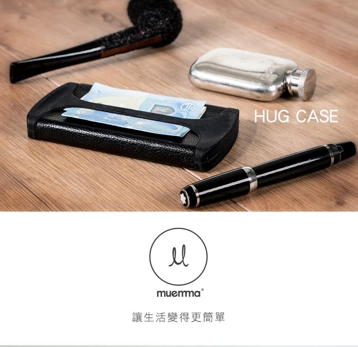 德國HUG CASE| 極簡時尚 錢夾 超薄短款多功能錢夾卡夾(Gold)