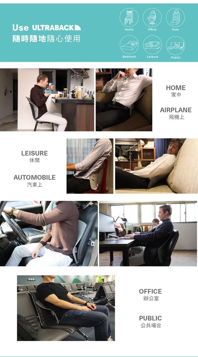 【集購】ULTRABACK® |超強人體工學腰靠墊 給腰背最終極的支撐